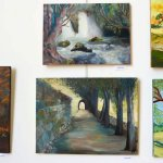 אפרת זלאית בתערוכת ציירי הסטודיו של מירי לביא