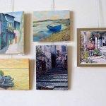גיטי ורטנטייל בתערוכת ציירי הסטודיו של מירי לביא