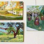 דורי גרשטיין בתערוכת ציירי הסטודיו של מירי לביא