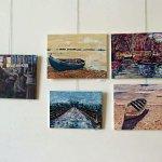נעמי פטל-אדר בתערוכת ציירי הסטודיו של מירי לביא