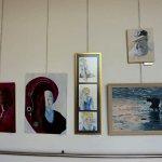 שריל מור בתערוכת ציירי הסטודיו של מירי לביא