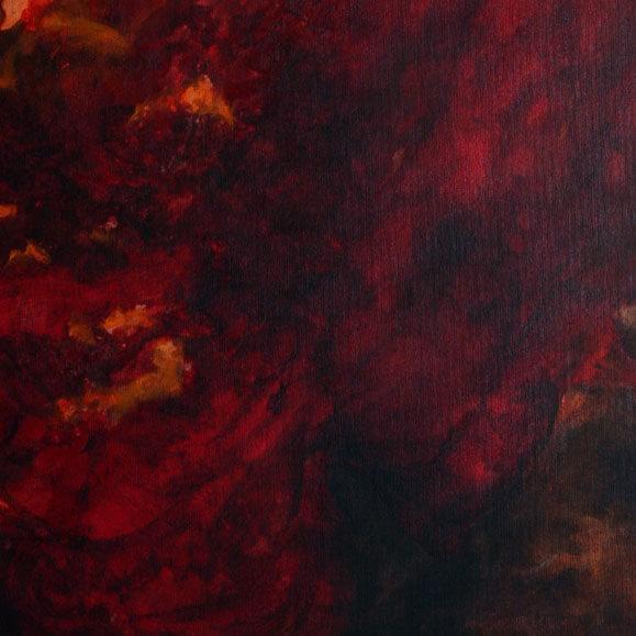 תמונת פרח אדום ושחור