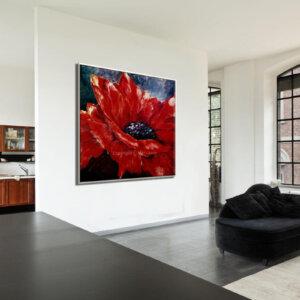 Anemone-flower-painting