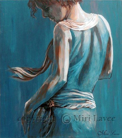 ציור אשה