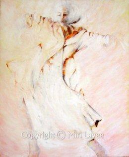 אישה רוקדת