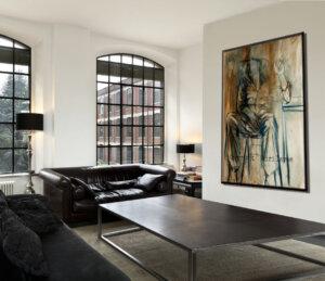 תמונה יפה לסלון, ציור דמות גבר