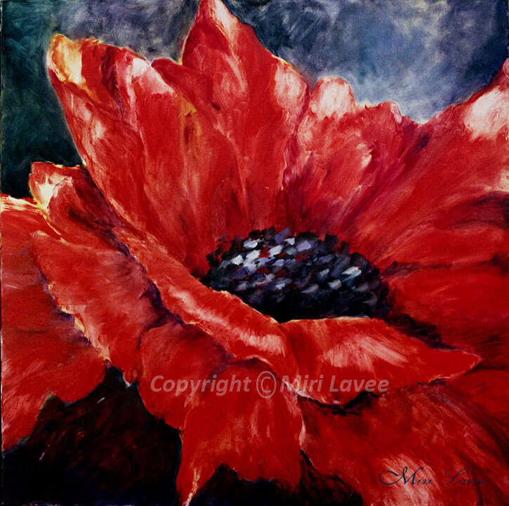 Anemone-flower-painting