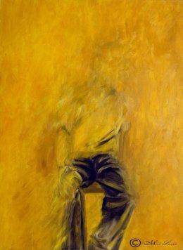 ציור של גבר