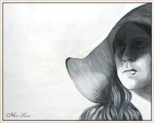ציור שחור לבן