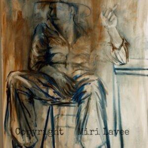ציור גבר