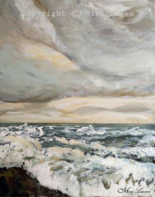 ים וגלים בחורף