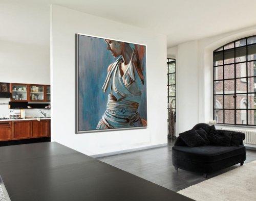 תמונה יפה לסלון, ציור אישה רוקדת