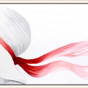 ציור אישה עם כובע