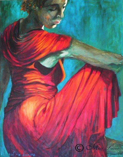 ציור אישה