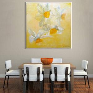 נרקיסים פרח לבן