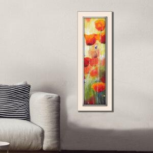 ציור פרגים, ציור פרחים מירי לביא