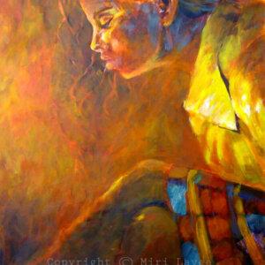 ציורי דמויות נערה