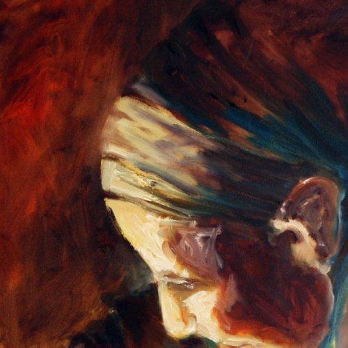 פרט מתוך ציור אישה
