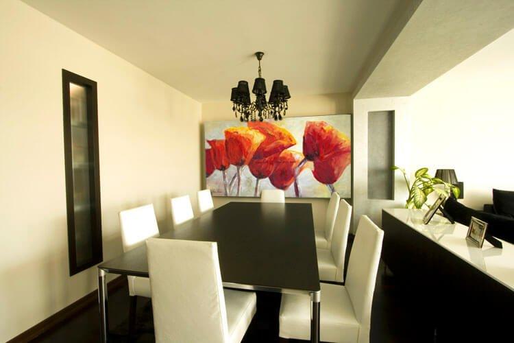 ציור פרחים, ציור פרגים למשרד