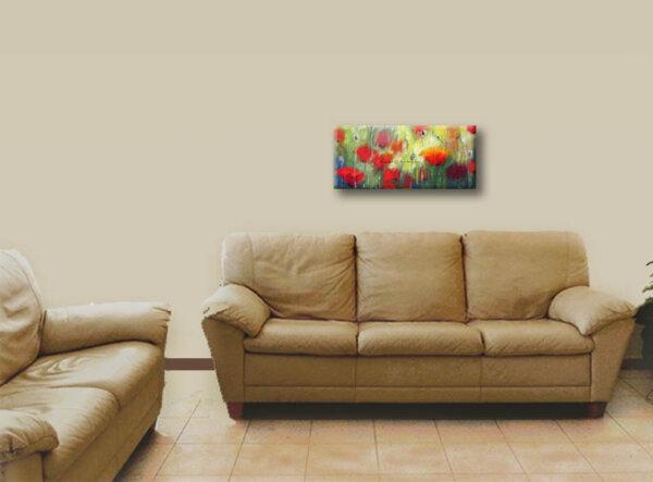 תמונת פרחים פרגים קטנה