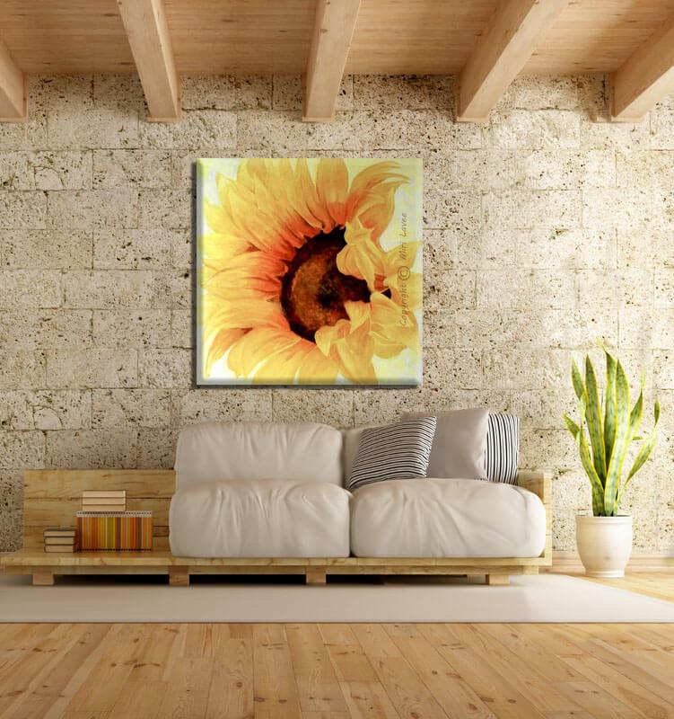 תמונת פרחים, תמונת חמנייה