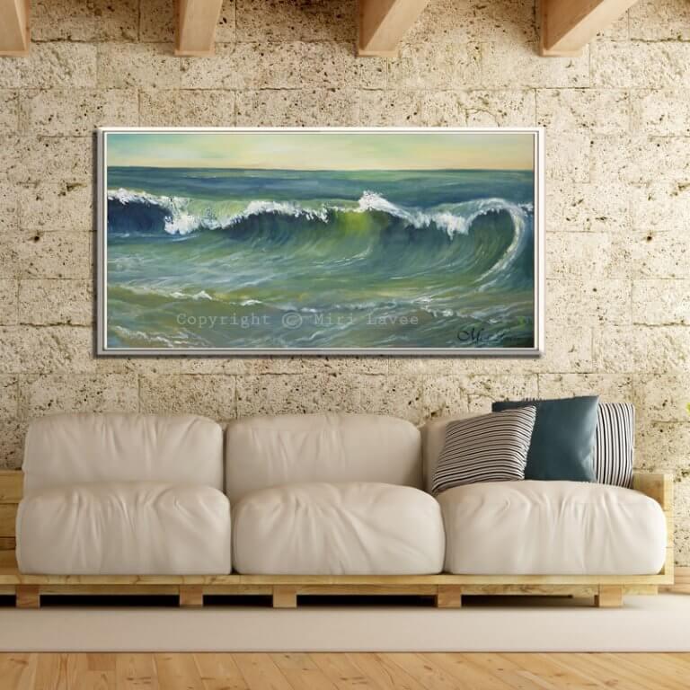 ציור ים גדול